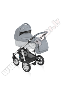 Baby Design DOTTY ECO 07 grey Universālie rati 2in1
