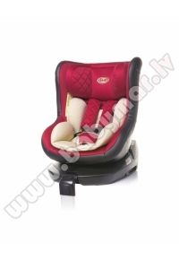 4baby ROLL-FIX ISOFIX red 0-18 kg Autokrēsls