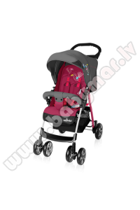 Baby Design MINI dark pink 08/16 Bērnu pastaiga ratiņi