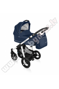 Baby Design LUPO COMFORT NEW navy blue Universālie rati 2in1
