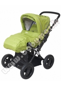 BRITTON COUNTRY CLASSIC Green Universālie rati 2in1 Transformeris