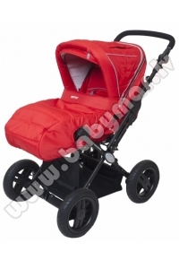 BRITTON COUNTRY CLASSIC Red Universālie rati 2in1 Transformeris