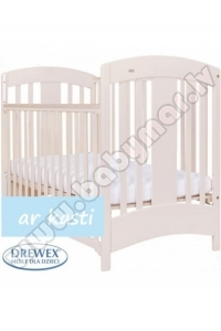 Drewex NATALIA latte 60x120 Baby bed 3 levels