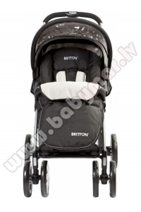 BRITTON ALLROAD black pastaiga ratiņi