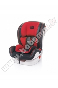 4baby FLY-FIX Isofix red 9-36 kg Autokrēsls