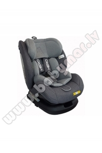 Aga Design HERO grey isofix Car seat 0-36 kg