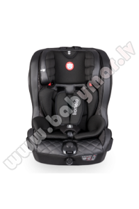 Lionelo JASPER Leather black ISOFIX 9-36 kg