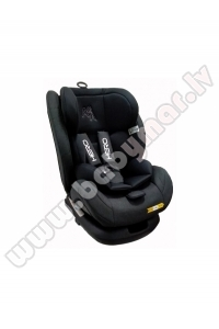 Aga Design HERO black isofix Car seat 0-36 kg
