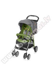 Baby Design MINI 04/16 green Bērnu pastaiga ratiņi