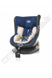 4baby ROLL-FIX ISOFIX navy blue 0-18 kg Autokrēsls