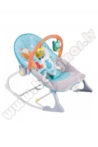 SunBaby swing chair FOREST FRIENDS (up to 18 kg!)